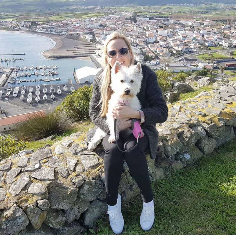 Meet Jen the local dog walker and dog sitter at PawsitiveWalks